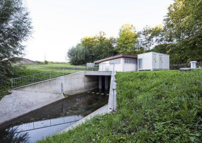Container | Hochwasserschutz Sulmtal Schieberhaus Breitenauer See